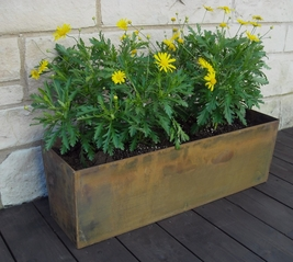 Window Box Cor-Ten Planters