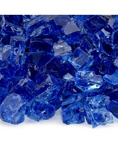 1/2 Inch Cobalt Fire Glass