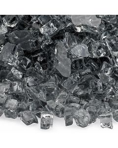 1/4 Inch Gray Fire Glass