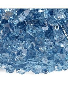 1/4 Pacific Blue Fire Glass