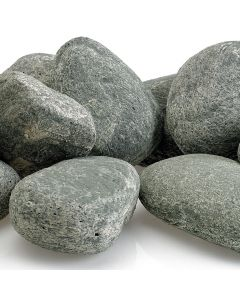 Cape Gray Lite Stones for a fire pit.