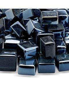 Black Cubic Glass