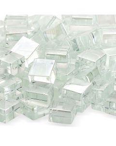 Snow Flake Cubic Glass