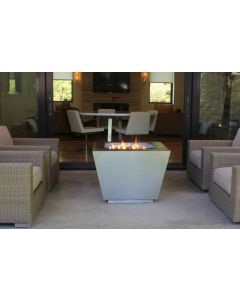 33 Inch Pyramid Stainless Steel Hidden Tank Fire Pit