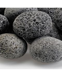 1-2 inch tumbled lava stone for a fire pit