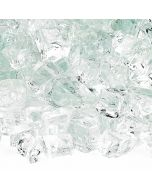 1/2 Inch Clear Fire Glass