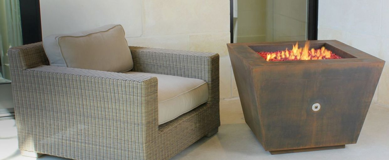 Special Pricing Cor-Ten Hidden Tank Fire Pits