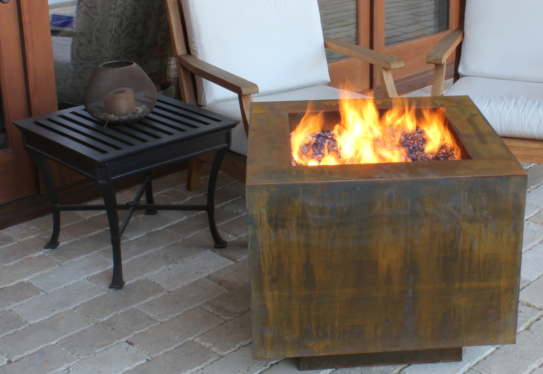 Fire Pit Sale, propane fire pits, hidden tank fire pits
